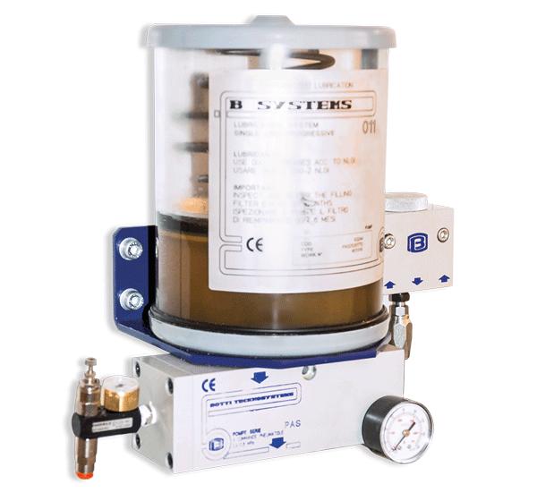 SD-Italy - Augusta F150 - Sistema di lubrificazione